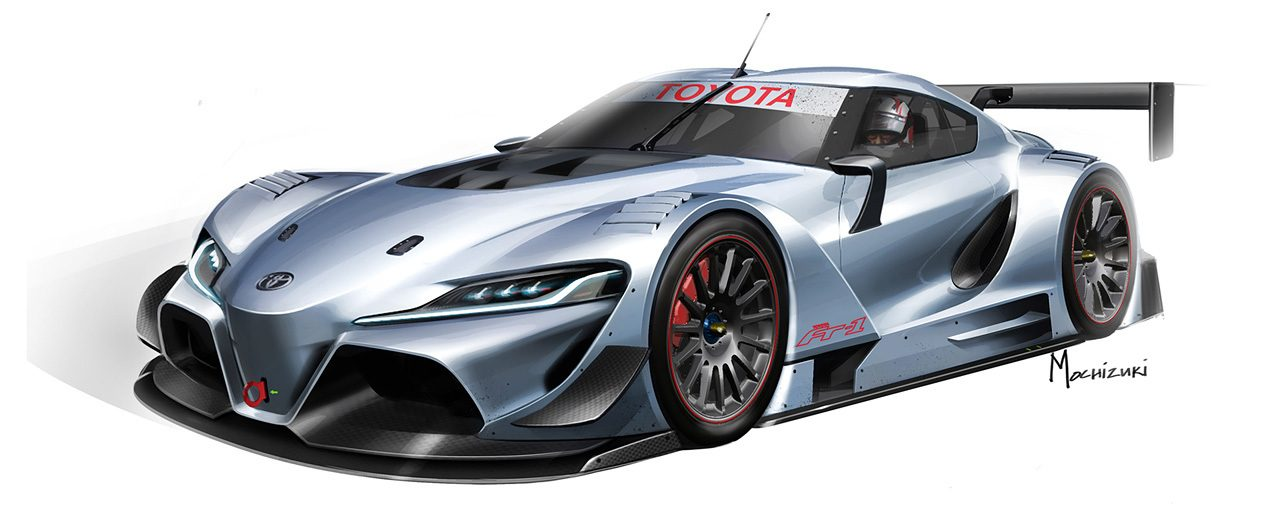 Toyota Ft 1 Vision Gran Turismo Revealed