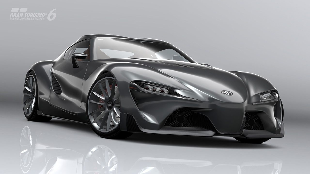 "Toyota Supra Release >> ""Toyota FT-1 Graphite"" Coming to Gran Turismo 6 in September"