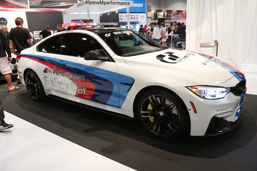 LED Light Bar Added to Upcoming BMW M4 Safety Car in GT6