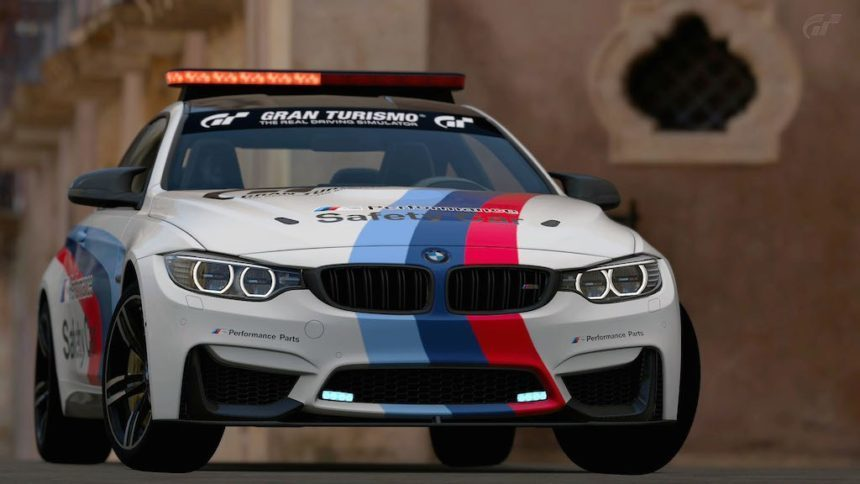 Led light bar added to upcoming bmw m4 safety car in gt6 mozeypictures Choice Image