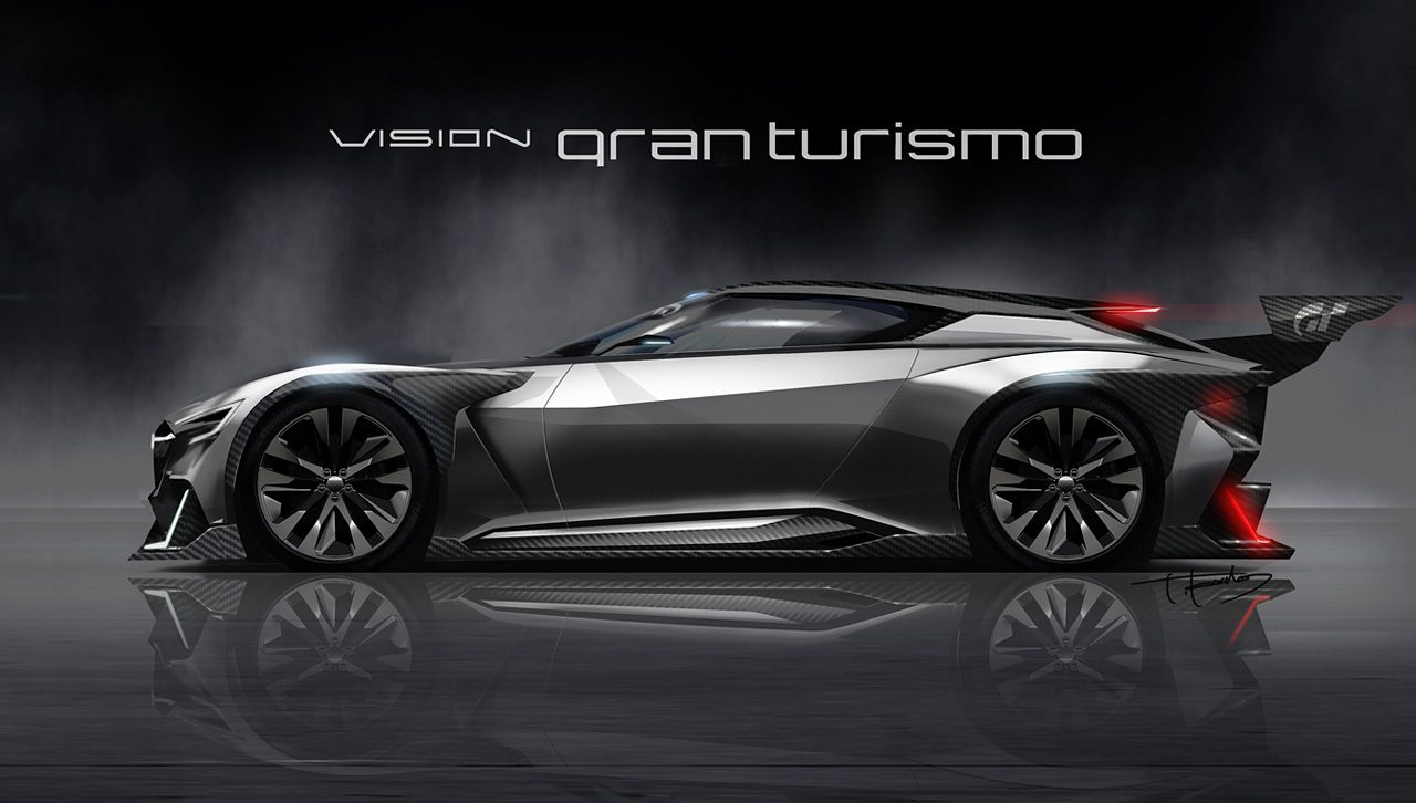 subaru viziv gt vision gran turismo car revealed coming to gt6 update. Black Bedroom Furniture Sets. Home Design Ideas