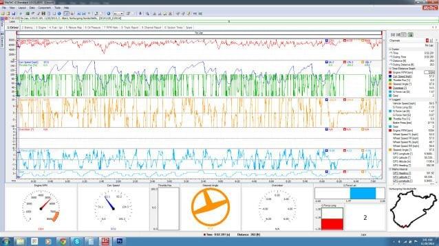 Gran Turismo 6 Compatible with MoTeC i2 Professional Data