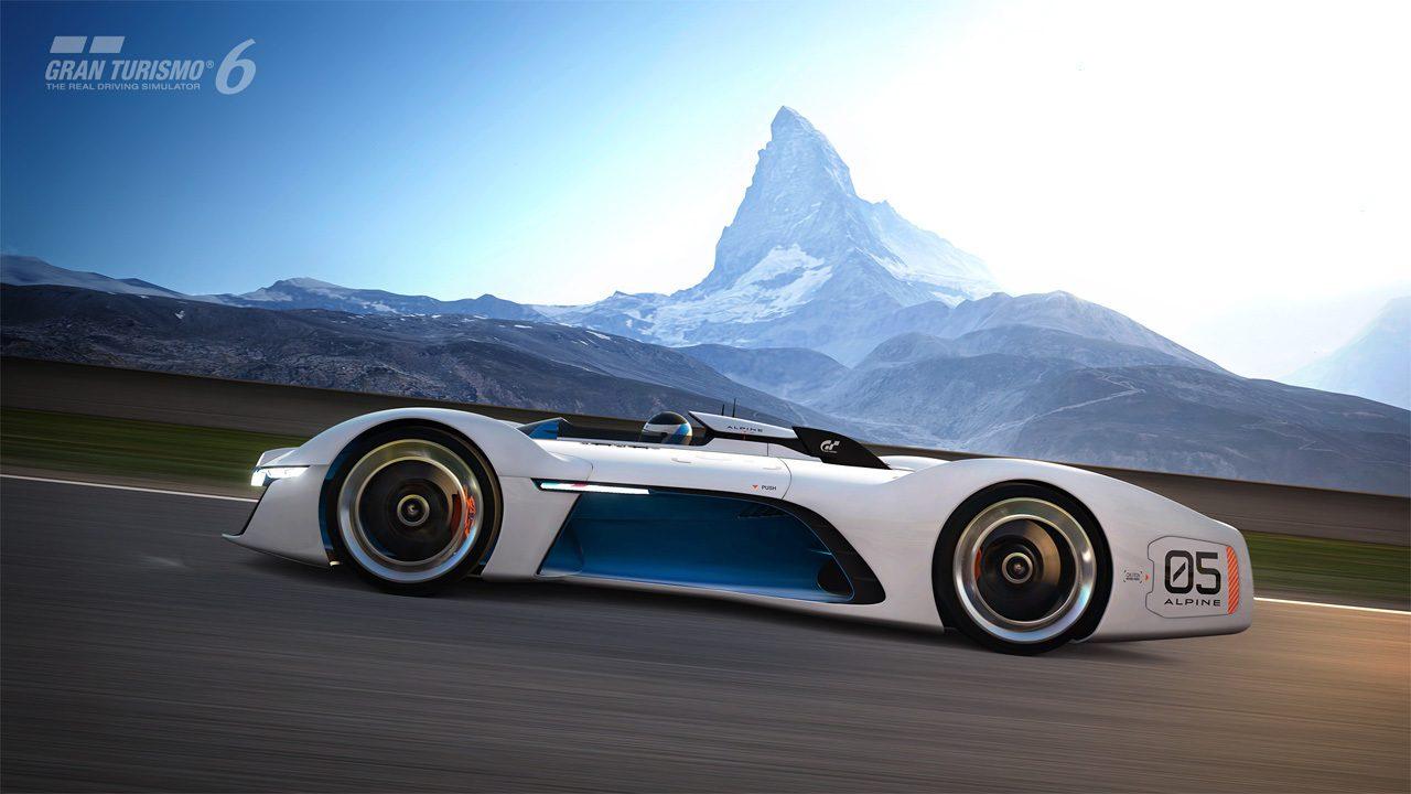 gt6 update released brings lexus alpine vision gt cars. Black Bedroom Furniture Sets. Home Design Ideas
