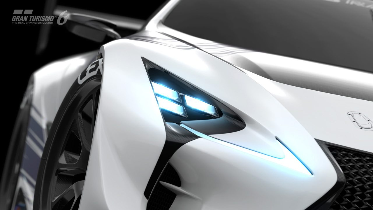 Gran Turismo Sport Update >> Lexus LF-LC GT Vision GT Revealed, Coming Spring 2015