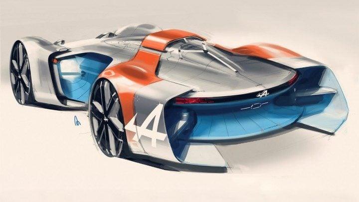 Evolution Of Alpines Vision Gt Car Revealed In Design Sketches