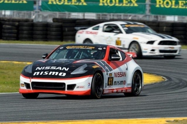 Doran Racing GT Academy #41 Nissan 370Z NISMO driven by Bryan He