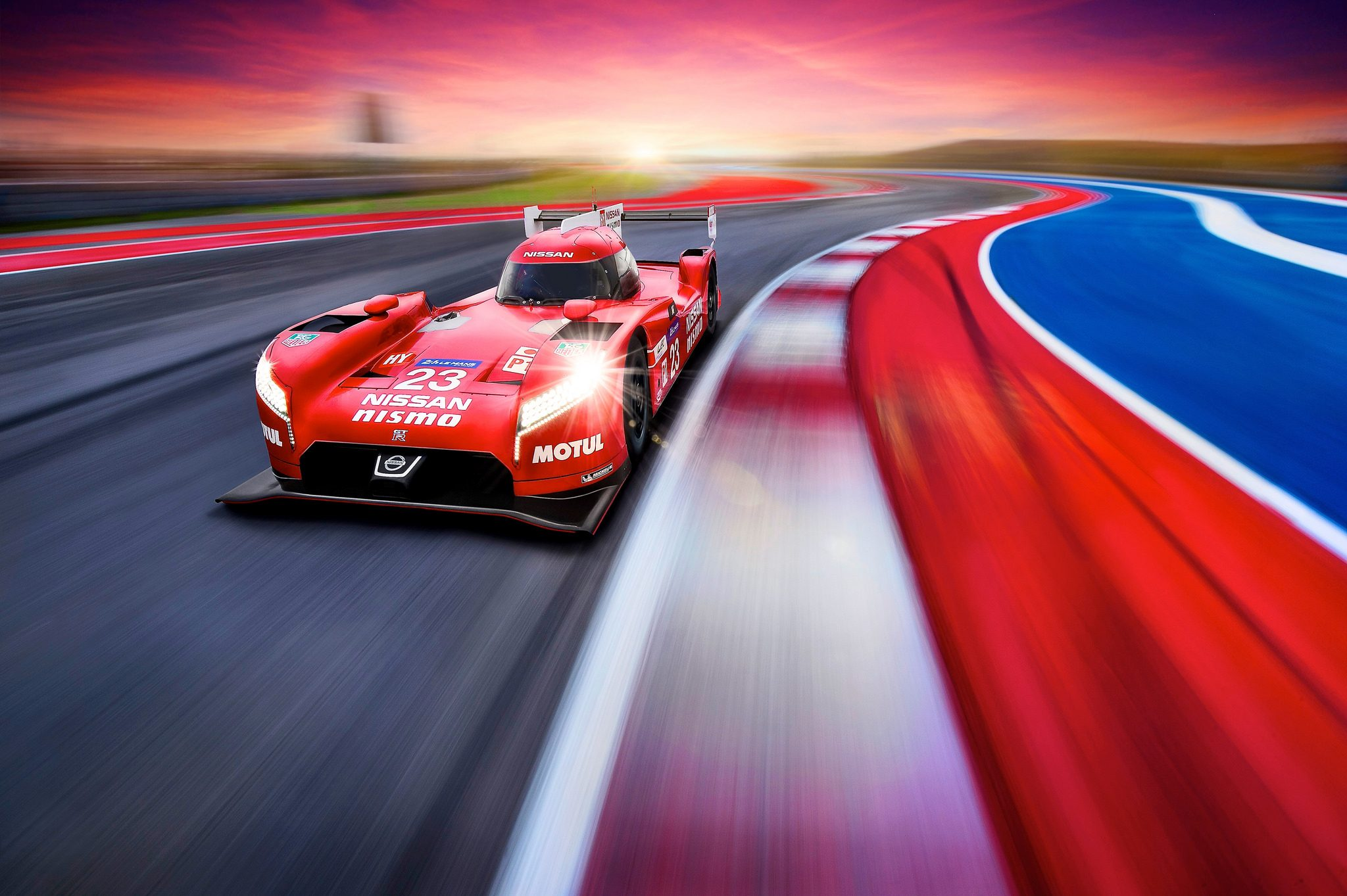 Nissan GTR LM NISMO FrontWheel Drive LMP1 Car Revealed