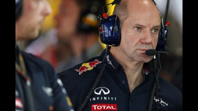 Red Bull Racing Chief Technical Officer Adrian Newey.