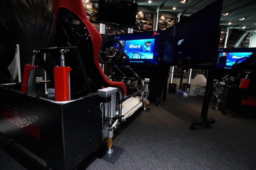 tokyo motor show brings updated gt6 motion simulator rig. Black Bedroom Furniture Sets. Home Design Ideas