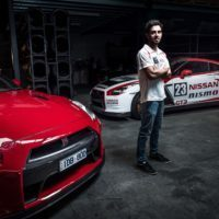 GT Academy winner and Nissan NISMO Athlete Matt Simmons