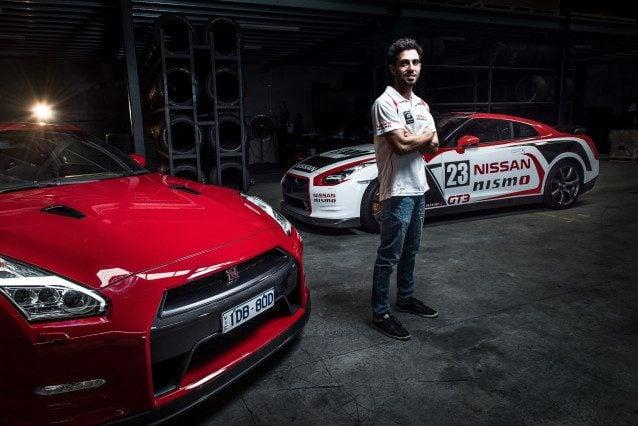 GT Academy winner and Nissan NISMO Athlete Matt Simmons