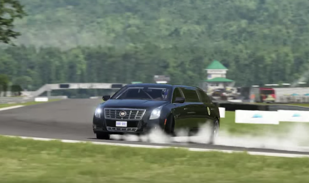 Forza 6 Presidential Drift Video Tricks Facebook Users Goes Viral