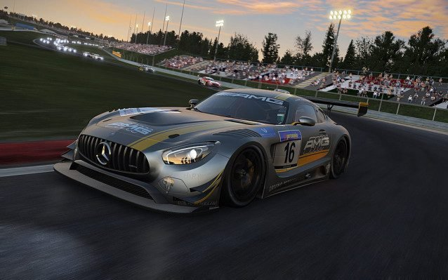 Project CARS AMG GT 06