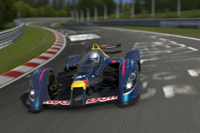 The infamously fast X2010 - Image taken from the Red Bull website.