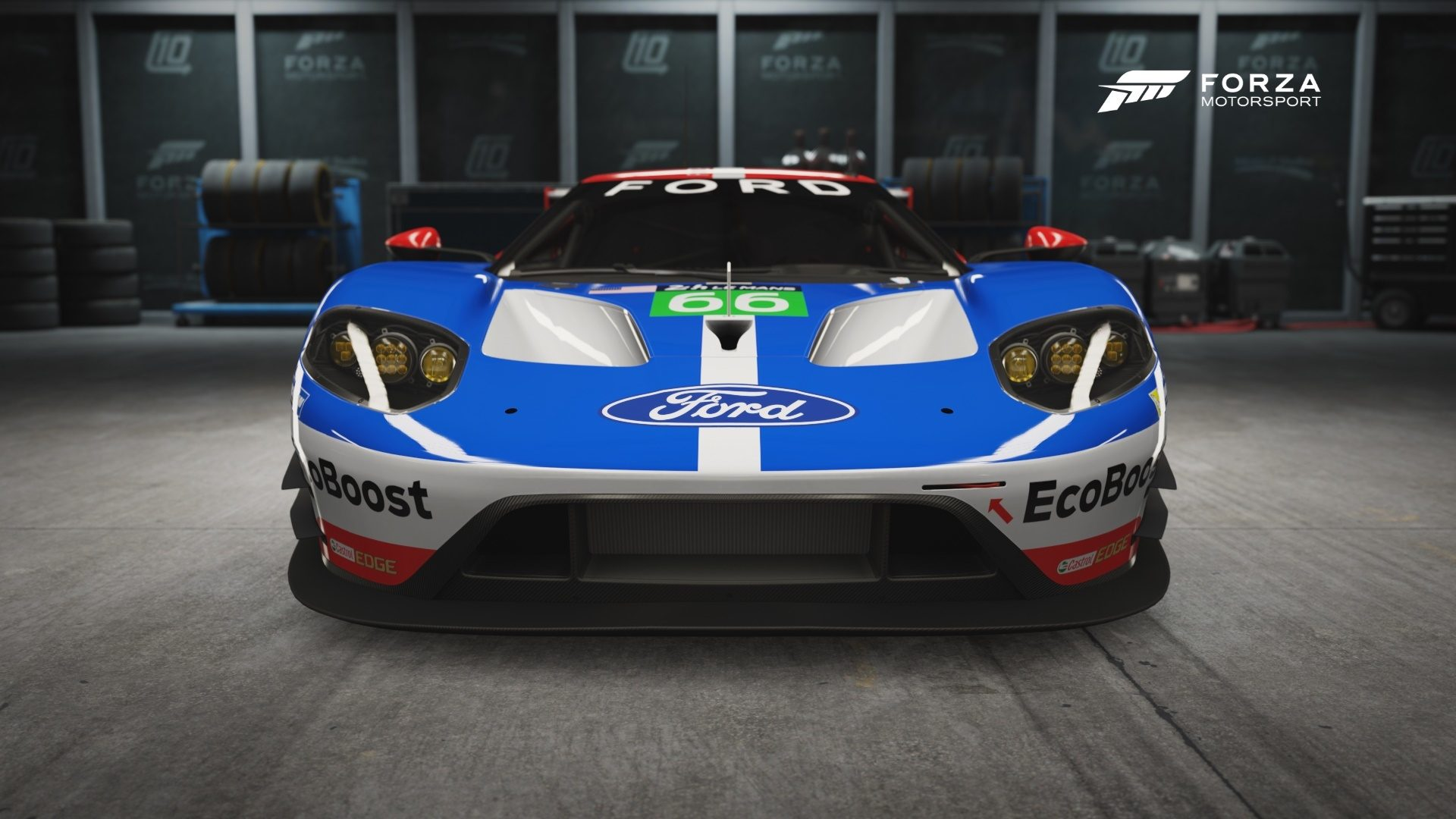 ford gt lm laps le mans in forza motorsport 6. Black Bedroom Furniture Sets. Home Design Ideas