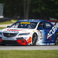 Elkhart, WI - Jun 25, 2016:  The Pirelli World Challenge racers take to the track on Pirelli tires during the The Pirelli World Challenge Road America Grand Prix Presented by Cadillac at the Road America in Elkhart, WI.