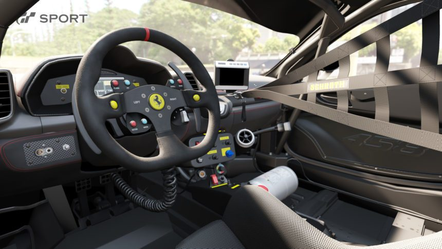 Gran Turismo Sport Will Finally Let You Take Pictures Inside Cars