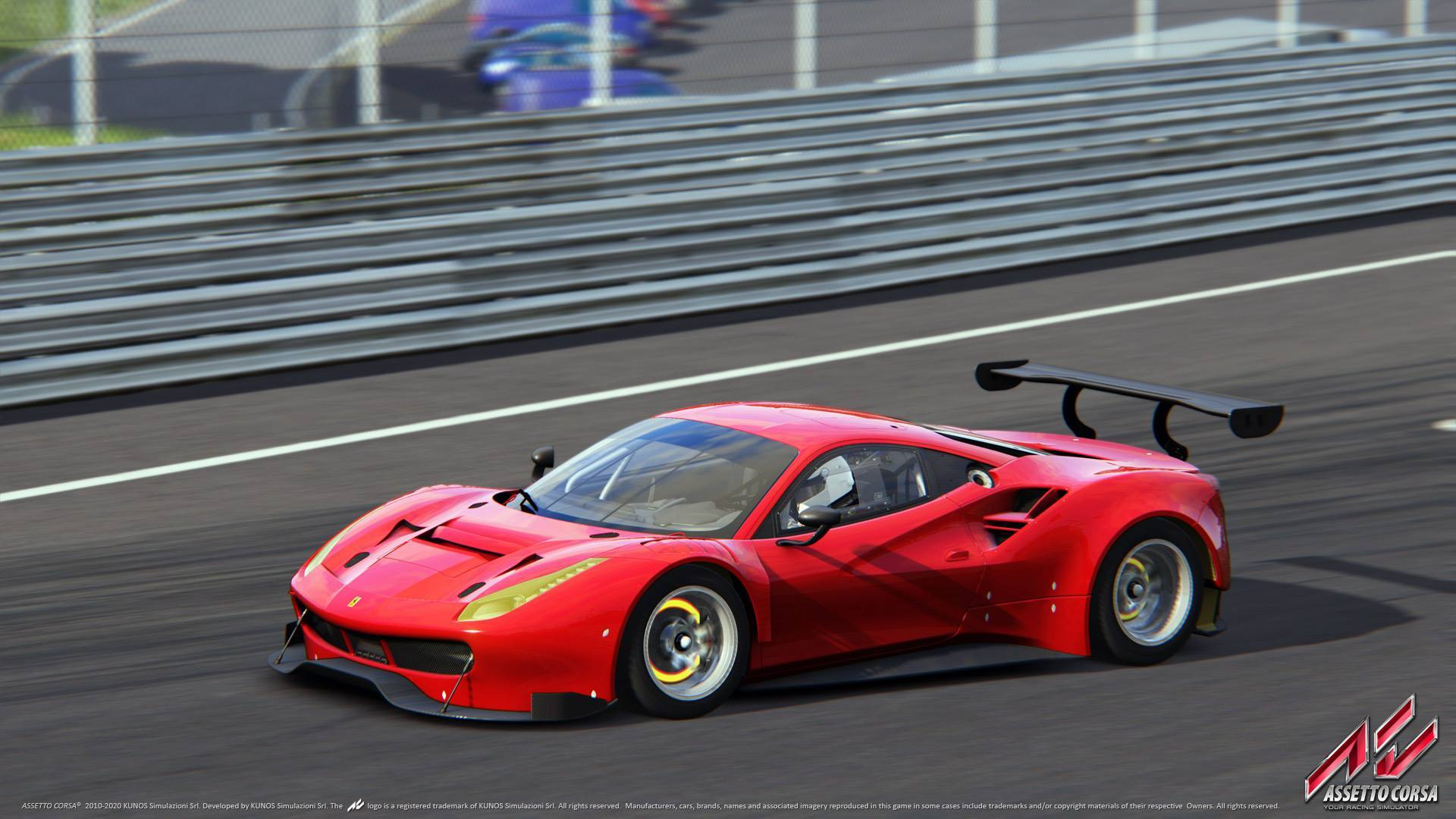 kunos confirms the ferrari 488 gt3 for assetto corsa 39 s red pack. Black Bedroom Furniture Sets. Home Design Ideas