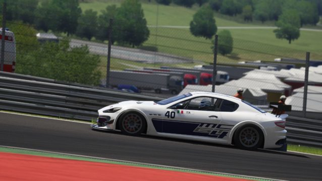 Maserati GT MC GT4 Assetto Corsa Red Pack