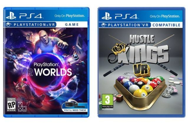 PlayStation VR boxes