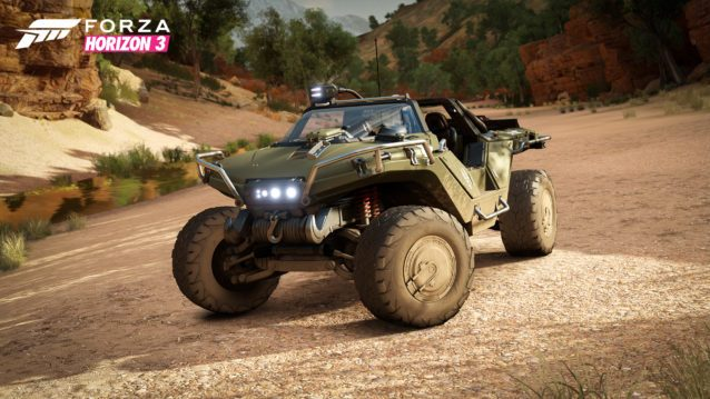 Forza Horizon 3 Halo UNSC M12S Warthog 01