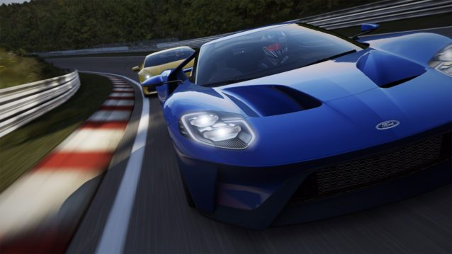 Forza Motorsport 6: Apex Now Supports Racing Wheels