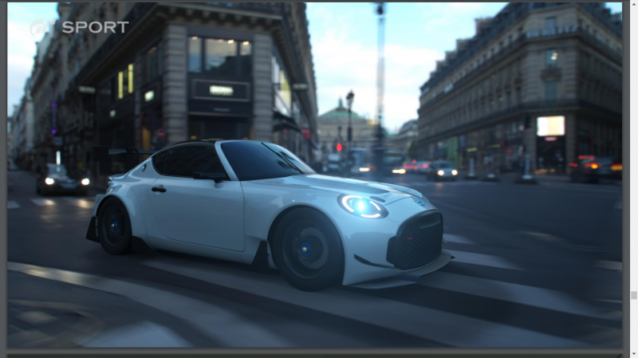Toyota S-FR 'Racing' Spotted in Gran Turismo Sport