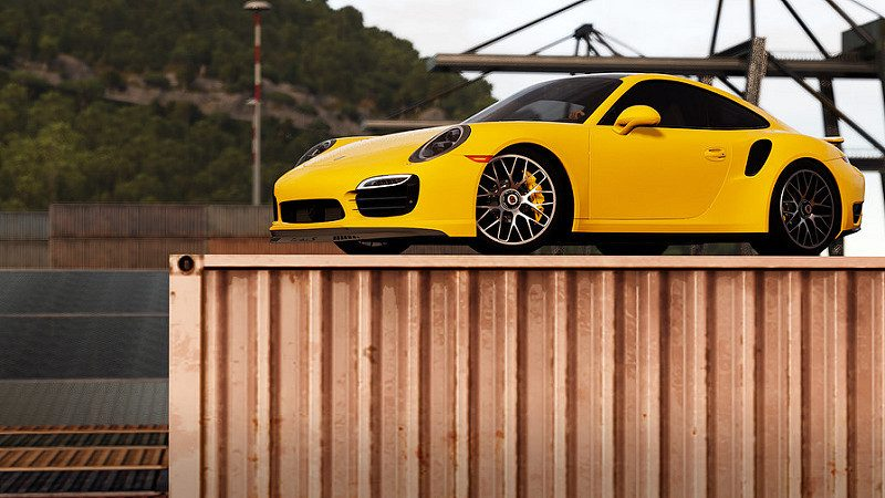 porsche once again spotted in forza horizon 3. Black Bedroom Furniture Sets. Home Design Ideas