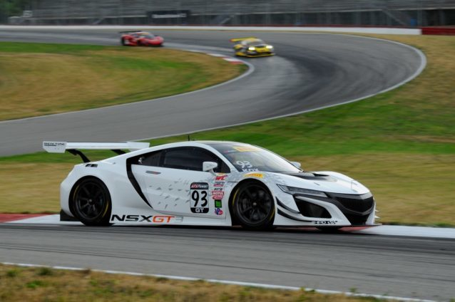 The Acura NSX GT3 will compete in both the WeatherTech SportsCar Championship and Pirelli World Challenge in 2017