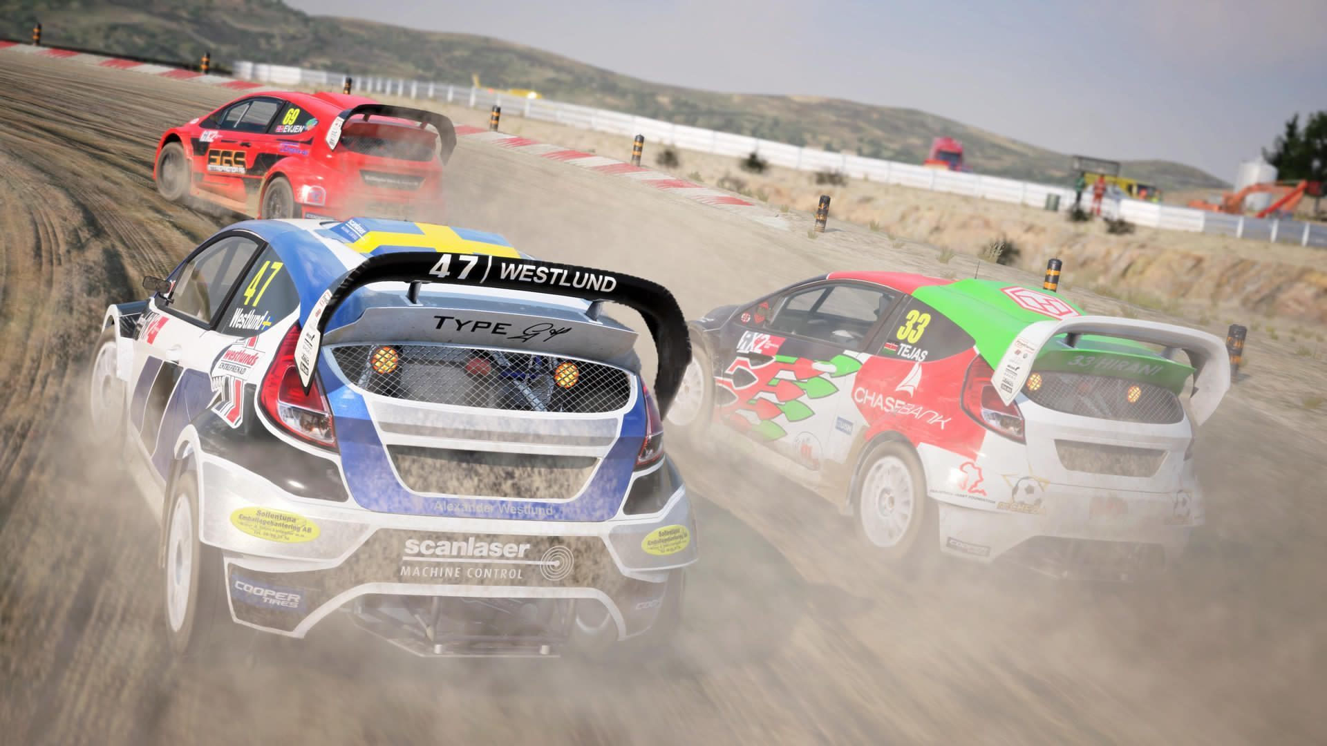 dirt 4 gameplay video rally landrush rallycross shown off. Black Bedroom Furniture Sets. Home Design Ideas