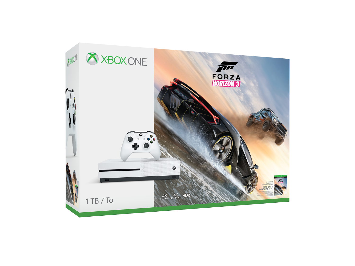 new xbox one s bundle with forza horizon 3 revealed by. Black Bedroom Furniture Sets. Home Design Ideas