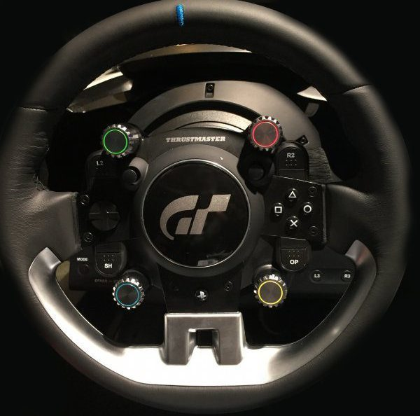 exclusive look at the upcoming thrustmaster gt sport wheel auto breaking news. Black Bedroom Furniture Sets. Home Design Ideas