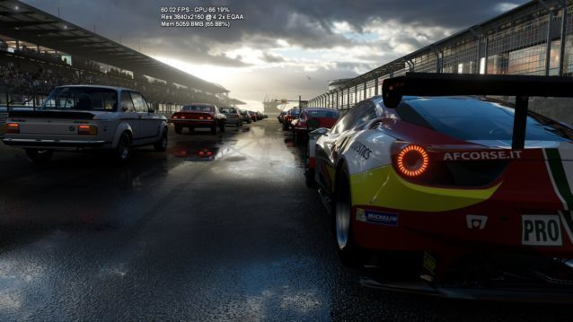 Project Scorpio Forza 6 Tech Demo Runs At 4K 60FPS With Power To Spare