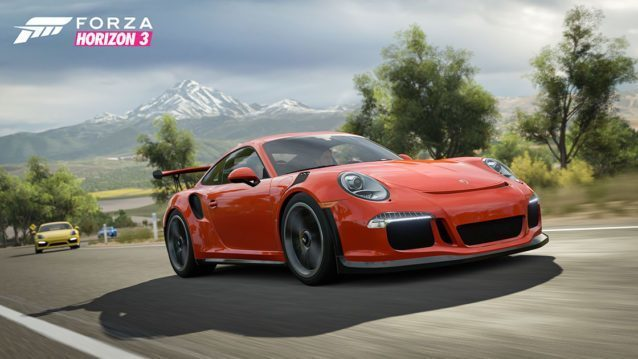 porsche pack launched for fh3 turn 10 porsche announce six year partnership. Black Bedroom Furniture Sets. Home Design Ideas