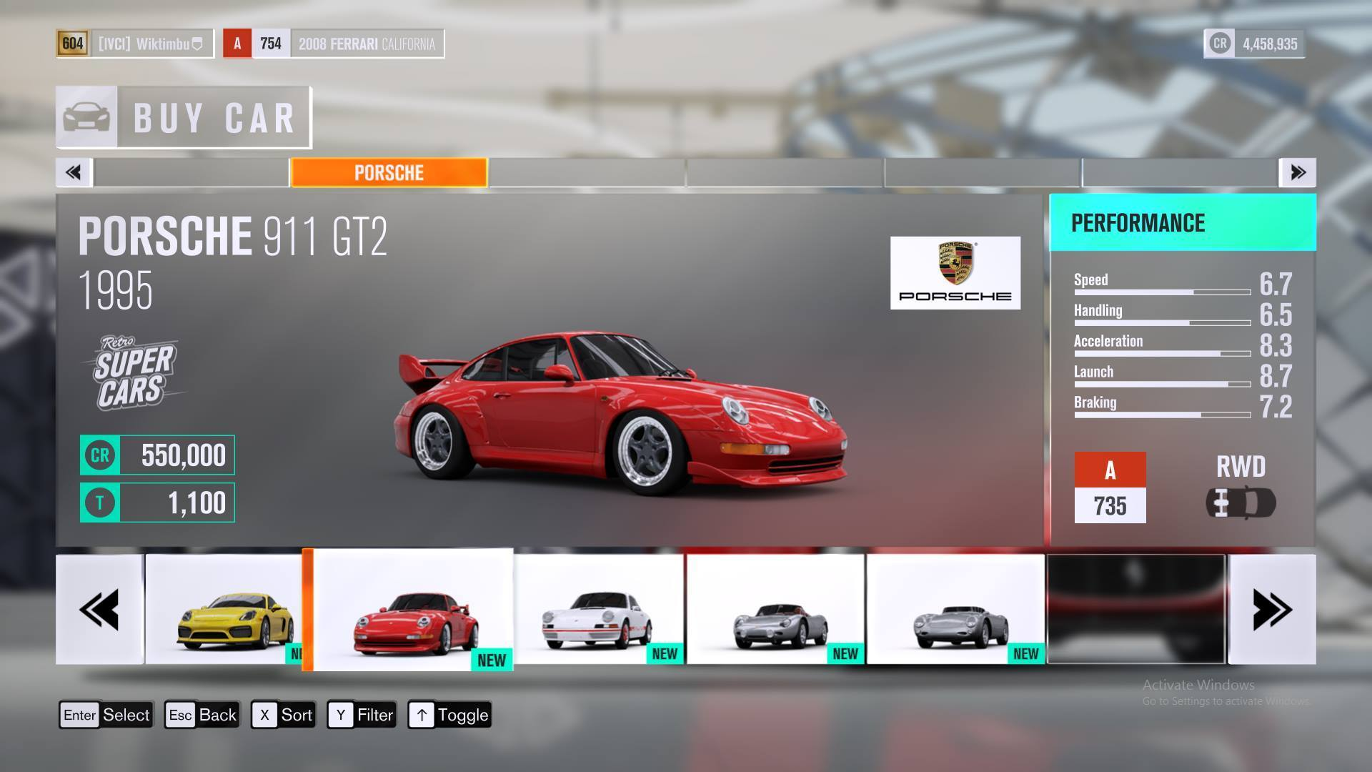 exciting porsche 911 gt2 forza horizon 3 noisiestpassenger. Black Bedroom Furniture Sets. Home Design Ideas