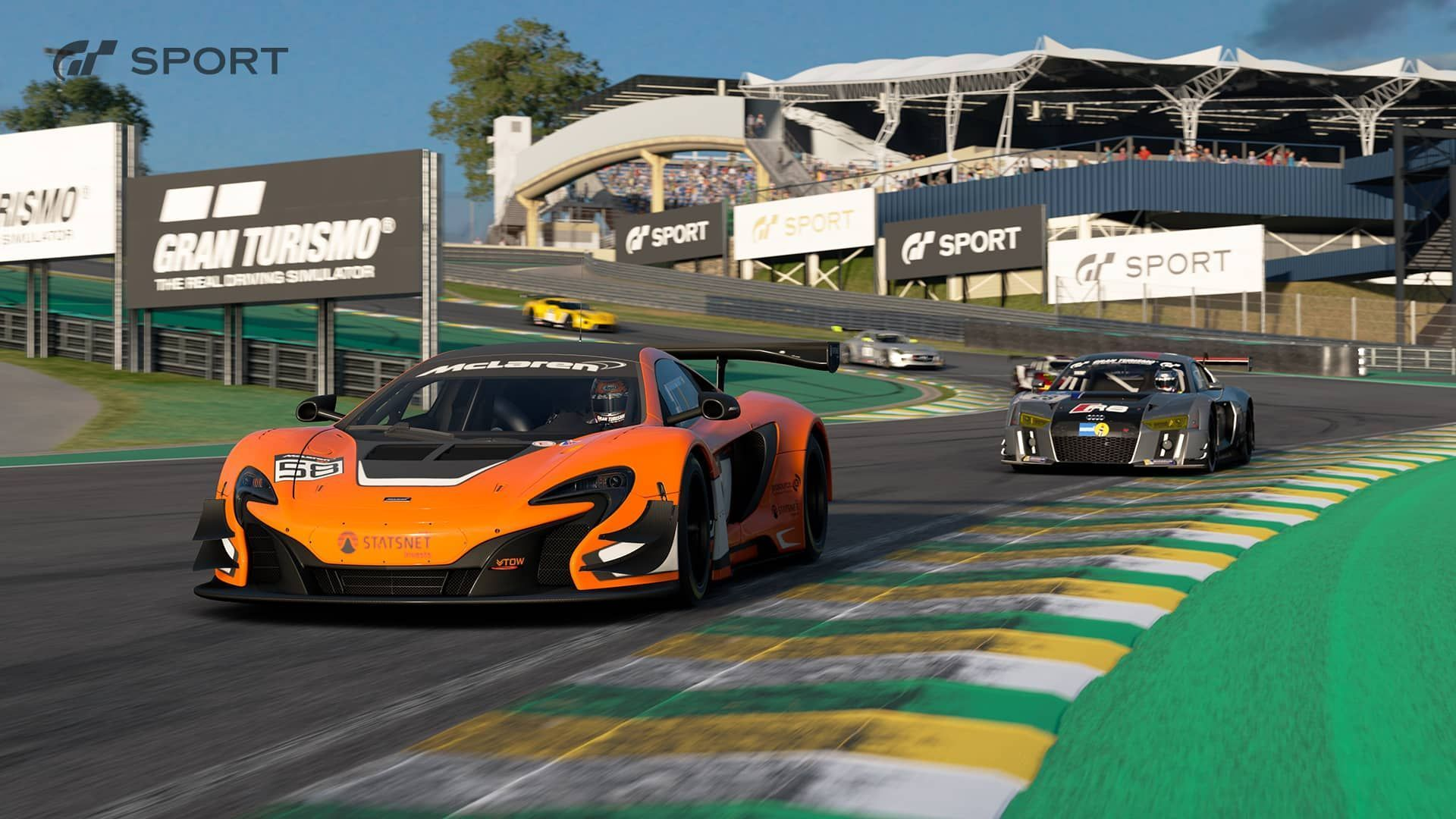 interlagos is coming to gran turismo sport. Black Bedroom Furniture Sets. Home Design Ideas