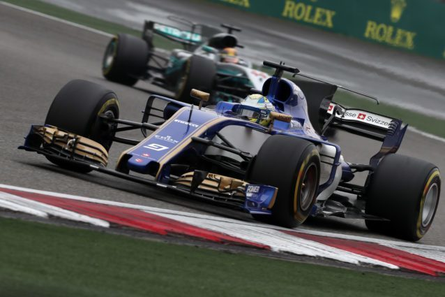 sauber f1 switches to honda power for 2018 season. Black Bedroom Furniture Sets. Home Design Ideas