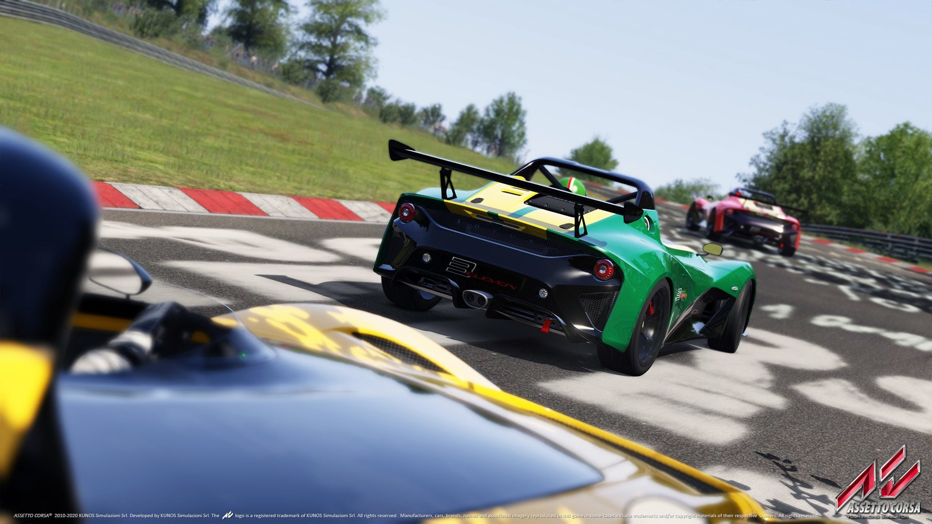 Assetto Corsa \'Ready to Race\' Car Pack Out Now on Steam
