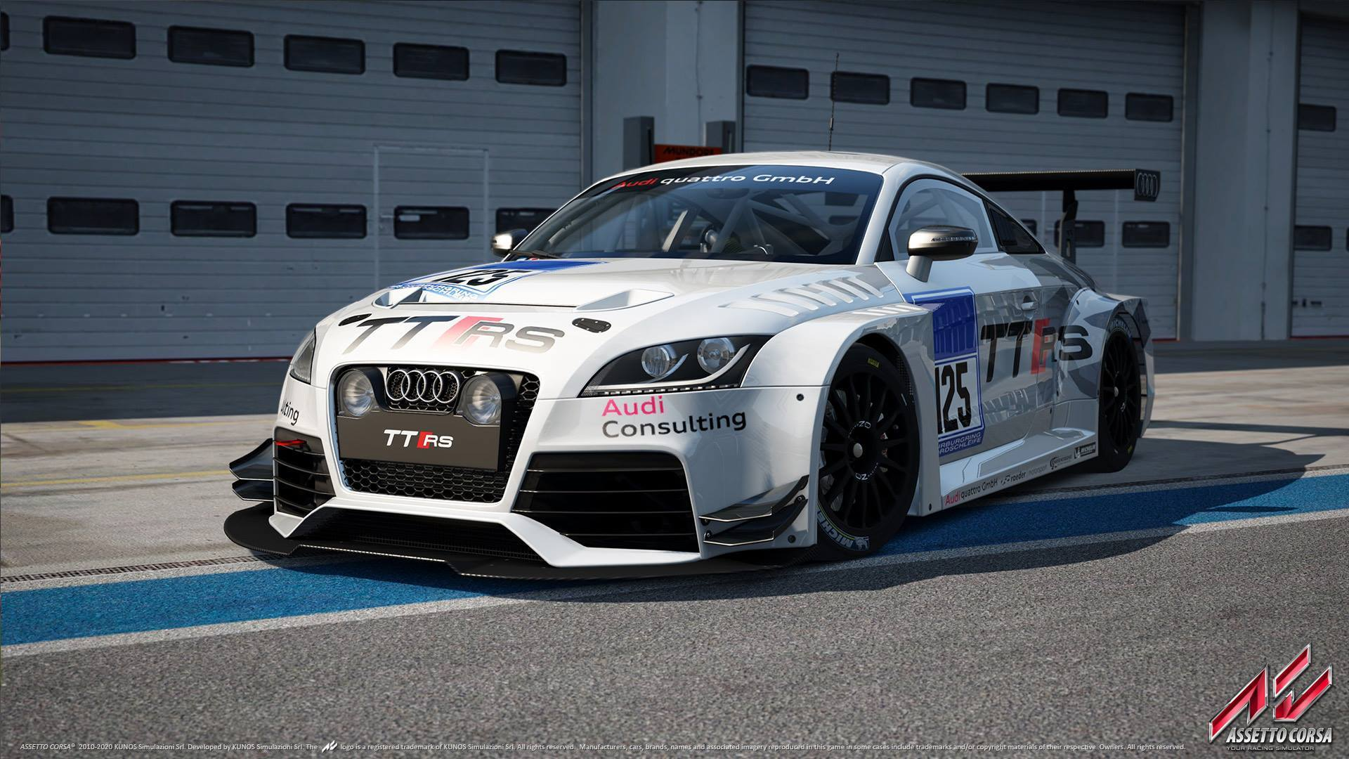 Audi Tt Rs Game: More Assetto Corsa 'Ready To Race' Images: R8 LMS, TT RS