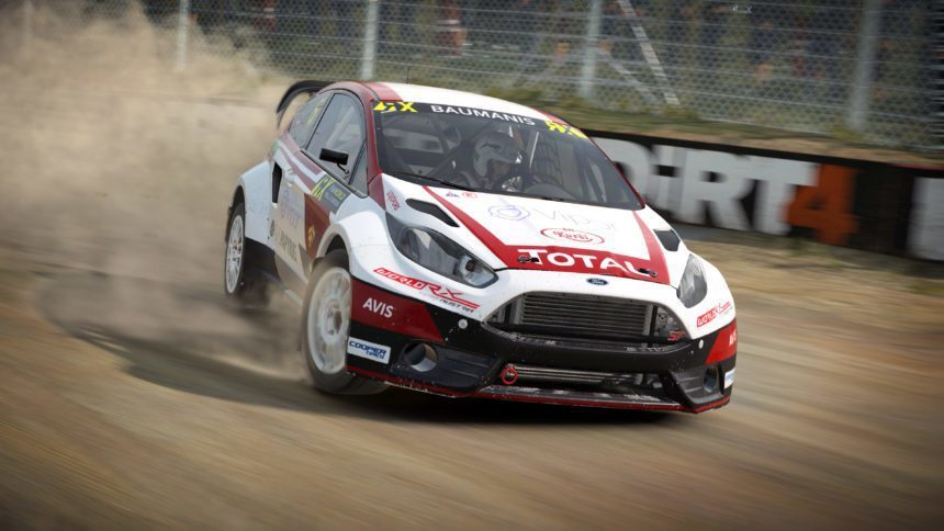new dirt 4 trailer showcasing world rallycross gameplay. Black Bedroom Furniture Sets. Home Design Ideas