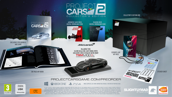Project Cars  Collector S Edition Pc Pre Order