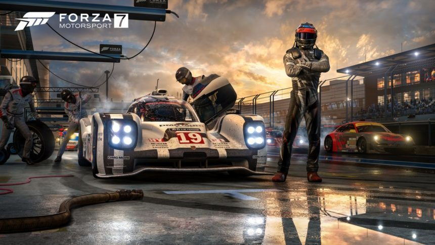 forza motorsport 7 revealed at e3 coming in october to xbox one and pc