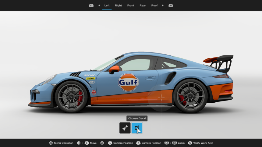 HandsOn With Gran Turismo Sports Livery Editor - Car decal maker upload picture
