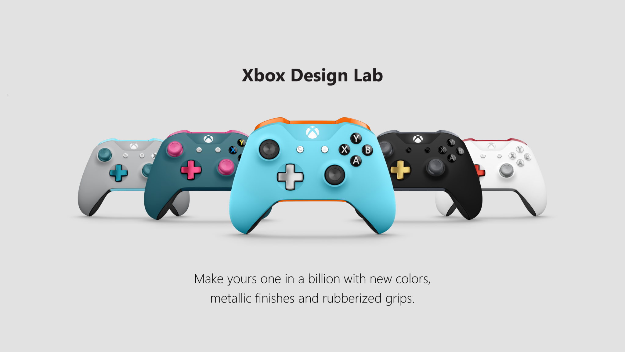 Xbox Design Lab Expands To Europe Adds More Customization