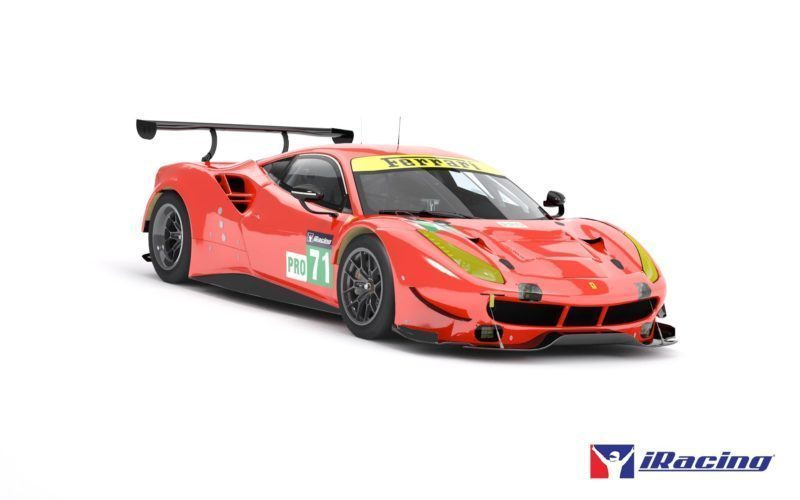 ferrari 488 gte and ford gt lm coming to iracing tomorrow. Black Bedroom Furniture Sets. Home Design Ideas