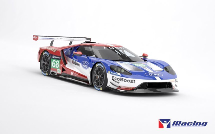Ferrari 488 GTE and Ford GT LM Coming to iRacing Tomorrow