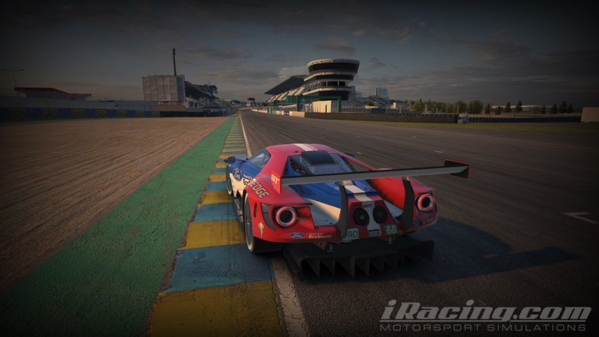 Ford Gt Ferrari  And Myrtle Beach Arrive In Season  Build Of Iracing