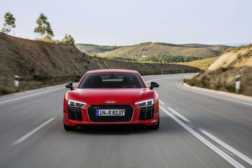 First Drive Review Audi R V Plus - Audi r8 v10 plus