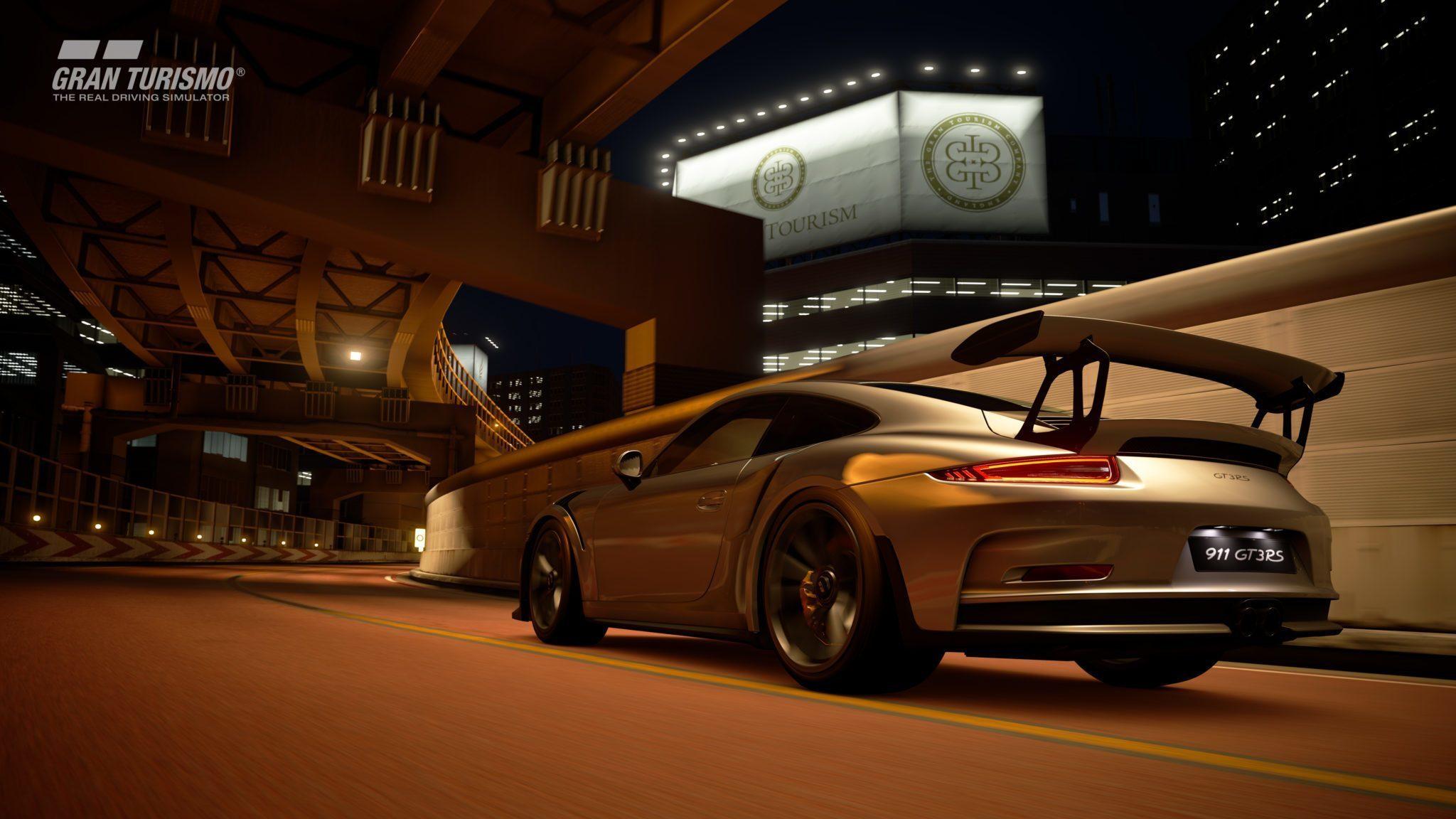 First Gt Sport Tokyo Expressway Night Gameplay Footage