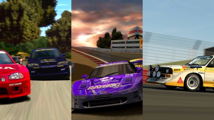 The Six Mainline Gran Turismo Games, Ranked Worst to Best